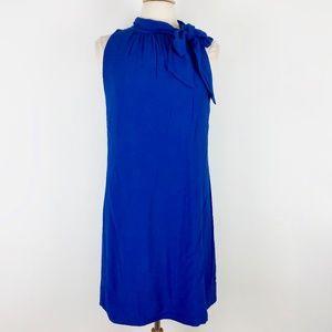 Ann Taylor 8 Medium Blue Career/Work Dress